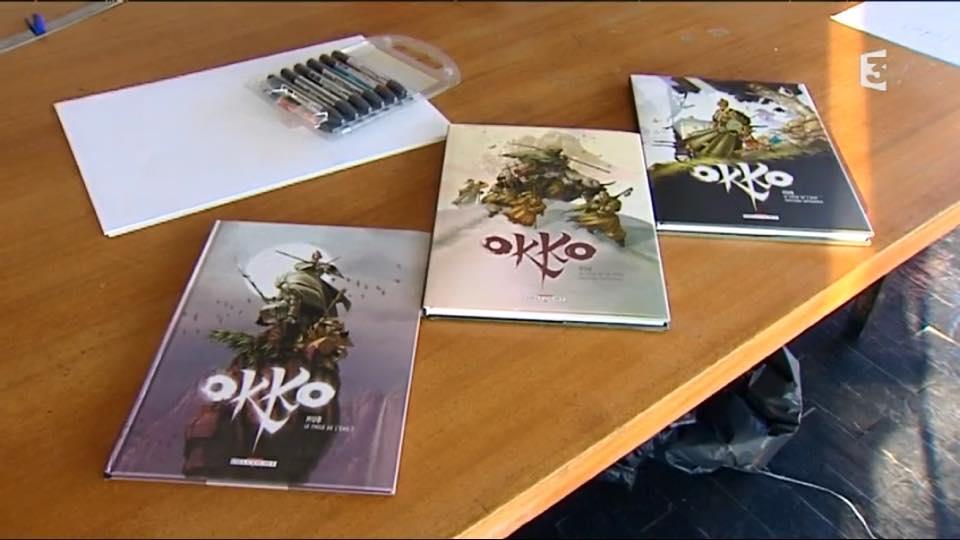"""alt=""""La BD OKKO de l'auteur HUB© Hub JPEG  - 53.9ko"""
