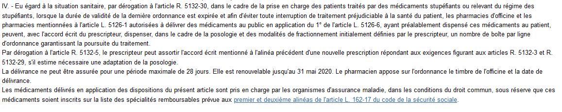Arrêté du 23 mars 2020 prescrivant les mesures d'organisation et de fonctionnement du système de santé nécessaires pour faire face à l'épidémie de covid-19 dans le cadre de l'état d'urgence sanitaire